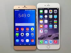 honor6 PlusとiPhone6 Plus