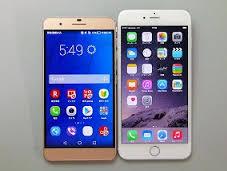 honor6 PlusとiPhone6 Plus