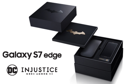 Galaxy S7 edge SCV33 Injustice edition 1