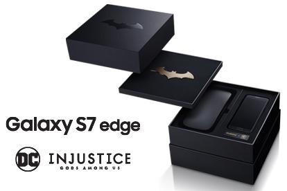 Galaxy S7 edge SCV33 Injustice edition 1
