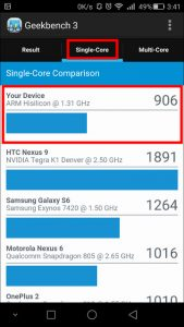 honor6 Plus GEEK Bench 3-2