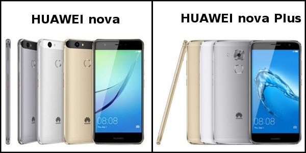「nova」「nova Plus」