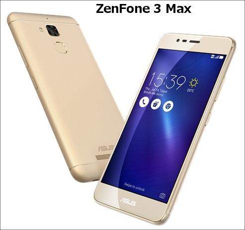 ZenFone 3 Max画像